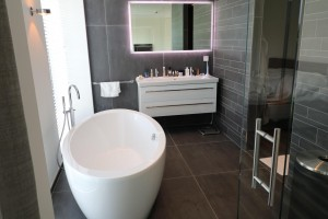Sanitair Van Hout : Hout beton schutting sanitair nieuwegein